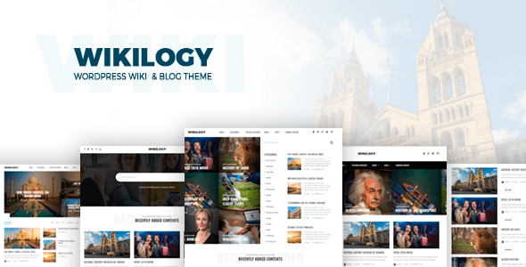 Wikilogy Preview Wordpress Theme - Rating, Reviews, Preview, Demo & Download