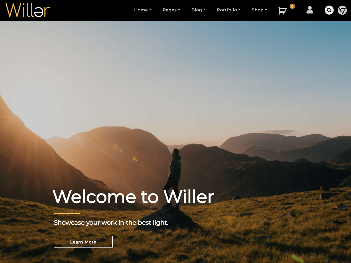 Willer Preview Wordpress Theme - Rating, Reviews, Preview, Demo & Download