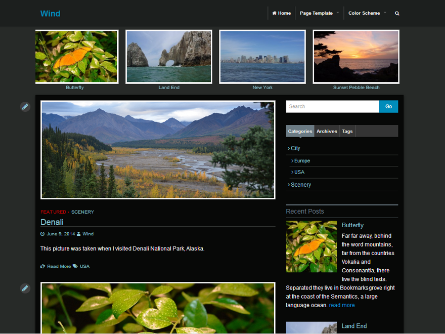 Wind Preview Wordpress Theme - Rating, Reviews, Preview, Demo & Download