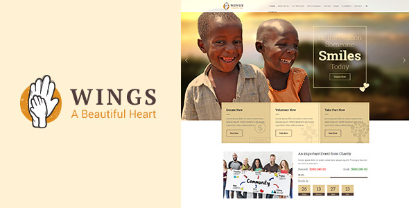 Wings Preview Wordpress Theme - Rating, Reviews, Preview, Demo & Download