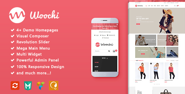 Woochi Preview Wordpress Theme - Rating, Reviews, Preview, Demo & Download
