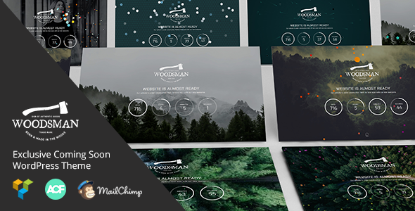 Woodsman Preview Wordpress Theme - Rating, Reviews, Preview, Demo & Download