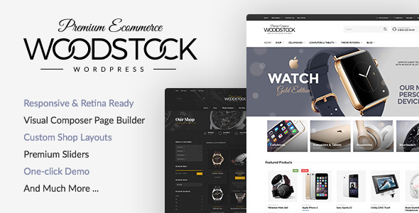 Woodstock Preview Wordpress Theme - Rating, Reviews, Preview, Demo & Download