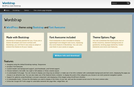 Wordstrap Preview Wordpress Theme - Rating, Reviews, Preview, Demo & Download