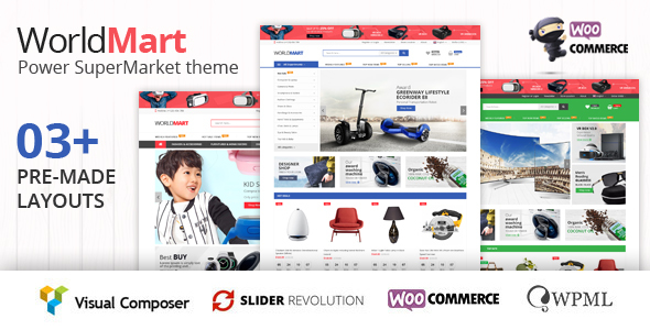 Worldmart Preview Wordpress Theme - Rating, Reviews, Preview, Demo & Download