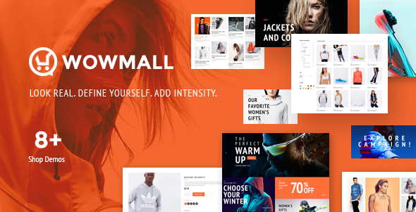 WOWmall Preview Wordpress Theme - Rating, Reviews, Preview, Demo & Download