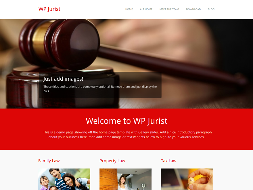 WP Jurist Preview Wordpress Theme - Rating, Reviews, Preview, Demo & Download