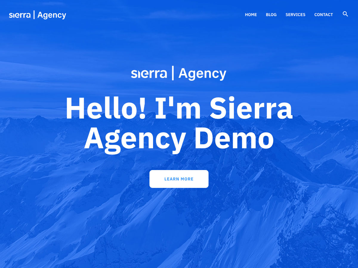 WP Sierra Preview Wordpress Theme - Rating, Reviews, Preview, Demo & Download