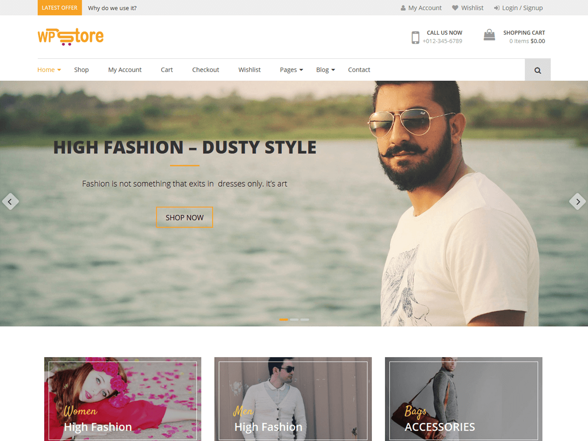WP Store Preview Wordpress Theme - Rating, Reviews, Preview, Demo & Download