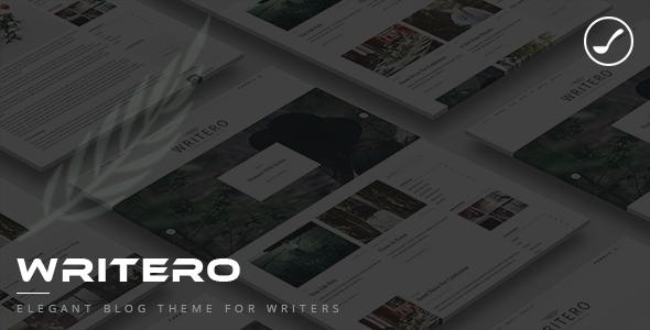Writero Preview Wordpress Theme - Rating, Reviews, Preview, Demo & Download