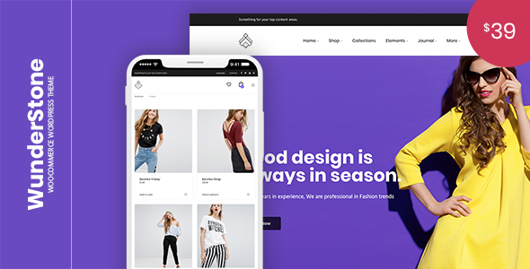 WunderStone Preview Wordpress Theme - Rating, Reviews, Preview, Demo & Download