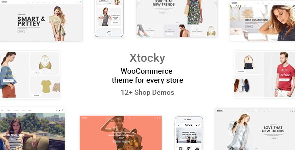 Xtocky Preview Wordpress Theme - Rating, Reviews, Preview, Demo & Download
