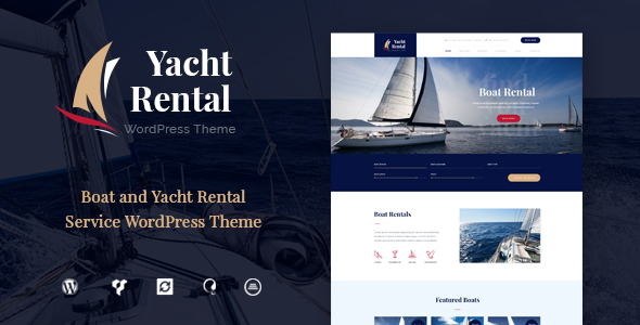 Yacht And Preview Wordpress Theme - Rating, Reviews, Preview, Demo & Download