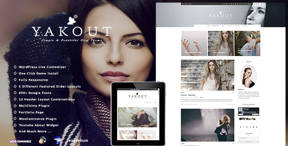Yakout Preview Wordpress Theme - Rating, Reviews, Preview, Demo & Download