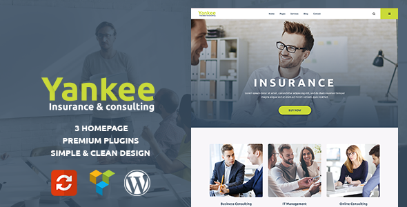 Yankee Preview Wordpress Theme - Rating, Reviews, Preview, Demo & Download