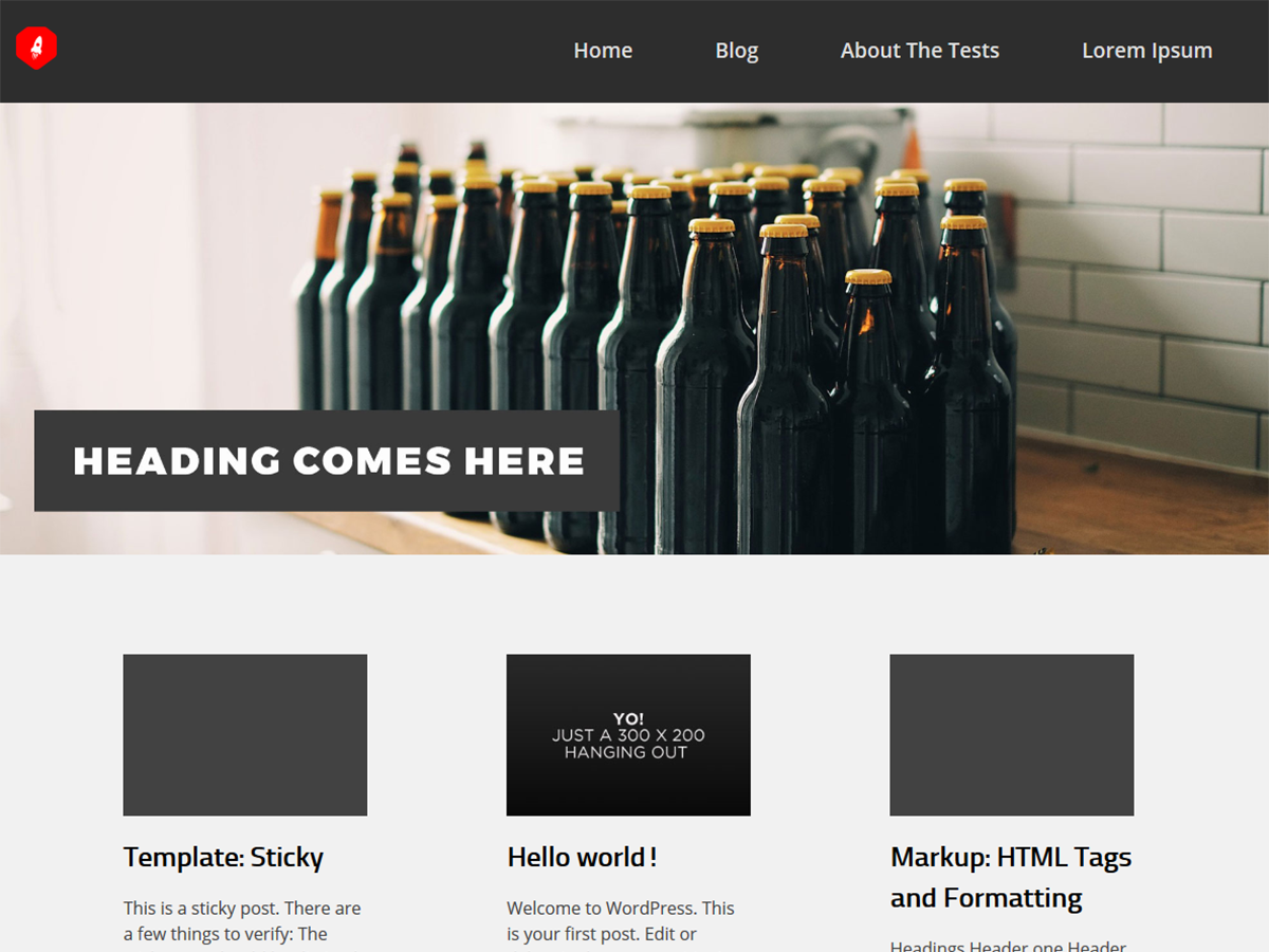 Yepza Preview Wordpress Theme - Rating, Reviews, Preview, Demo & Download