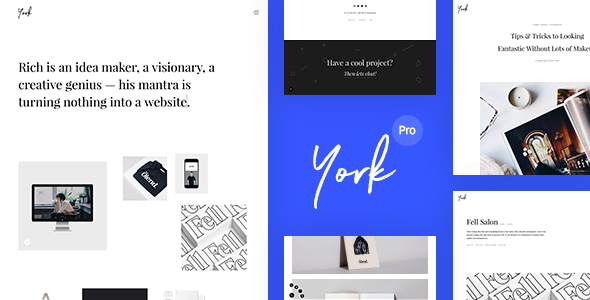 York Pro Preview Wordpress Theme - Rating, Reviews, Preview, Demo & Download