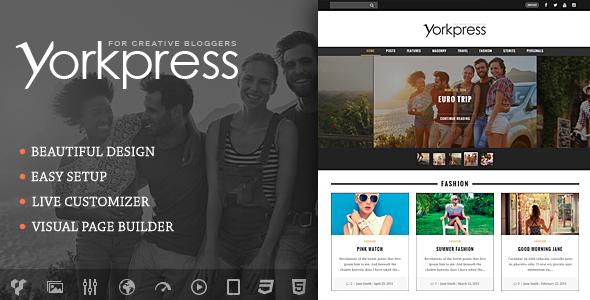 Yorkpress Preview Wordpress Theme - Rating, Reviews, Preview, Demo & Download