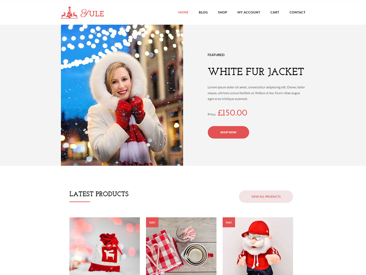 Yule Preview Wordpress Theme - Rating, Reviews, Preview, Demo & Download