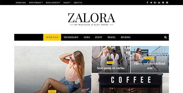 Zalora Preview Wordpress Theme - Rating, Reviews, Preview, Demo & Download