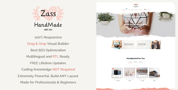 Zass Preview Wordpress Theme - Rating, Reviews, Preview, Demo & Download