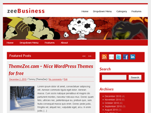 ZeeBusiness Preview Wordpress Theme - Rating, Reviews, Preview, Demo & Download