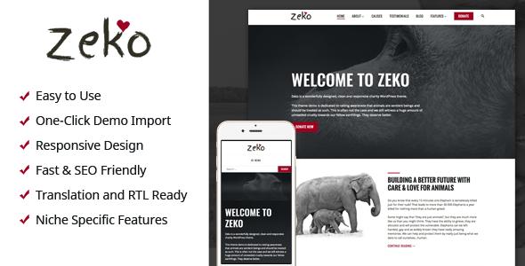 Zeko Preview Wordpress Theme - Rating, Reviews, Preview, Demo & Download
