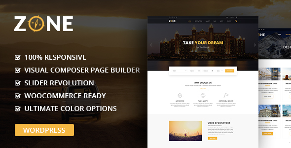 Zone Preview Wordpress Theme - Rating, Reviews, Preview, Demo & Download