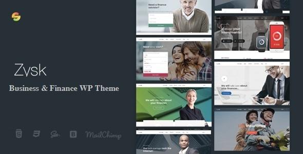Zysk Preview Wordpress Theme - Rating, Reviews, Preview, Demo & Download
