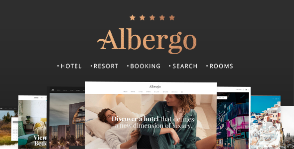 Albergo Preview Wordpress Theme - Rating, Reviews, Preview, Demo & Download