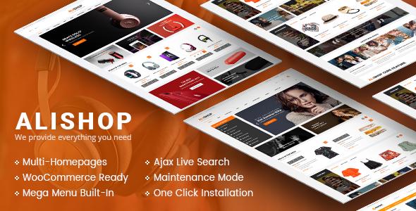 AliShop Preview Wordpress Theme - Rating, Reviews, Preview, Demo & Download