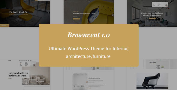 Brownvent Preview Wordpress Theme - Rating, Reviews, Preview, Demo & Download