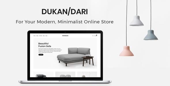 Dukandari Preview Wordpress Theme - Rating, Reviews, Preview, Demo & Download