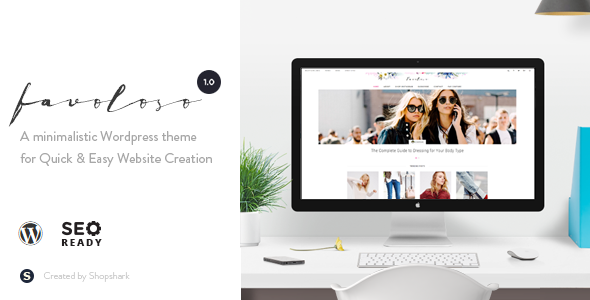 Favoloso Preview Wordpress Theme - Rating, Reviews, Preview, Demo & Download
