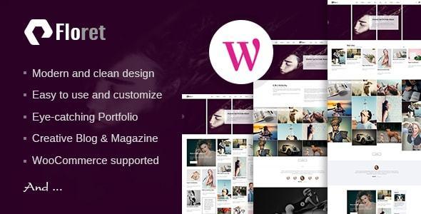 Floret Preview Wordpress Theme - Rating, Reviews, Preview, Demo & Download