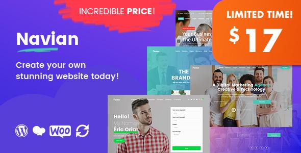 Navian Preview Wordpress Theme - Rating, Reviews, Preview, Demo & Download