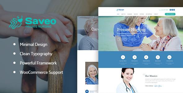 Saveo Preview Wordpress Theme - Rating, Reviews, Preview, Demo & Download