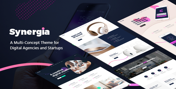 Synergia Preview Wordpress Theme - Rating, Reviews, Preview, Demo & Download