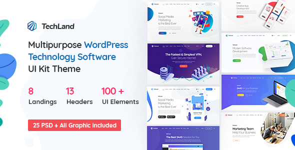 Techland Preview Wordpress Theme - Rating, Reviews, Preview, Demo & Download
