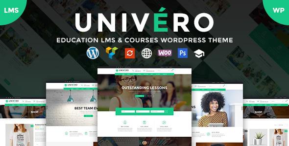 Univero Preview Wordpress Theme - Rating, Reviews, Preview, Demo & Download